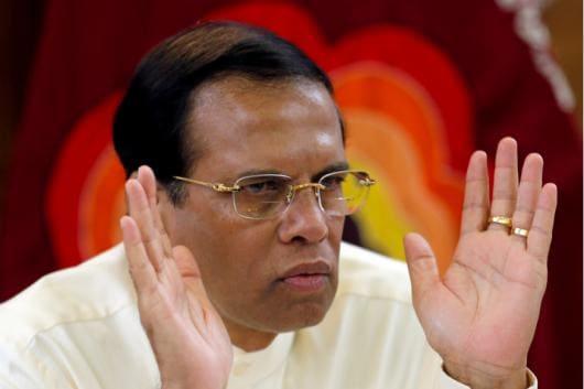 A file photo of Sri Lankan President Maithripala Sirisena. (Reuters)
