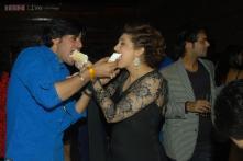 Photos: Vivian Dsena parties with Raqesh Vashisth, Ravi Dubey at wife Vahbiz Dorabjee's birthday bash
