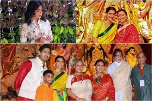 Image of Bollywood celebrities on durga ashtami 2019