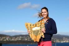 Alize Cornet beats Eugenie Bouchard to lift Hobart International title