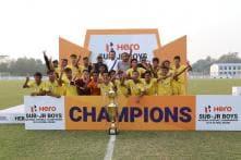 Meghalaya Beat Arunachal Pradesh to Win Sub Junior National Football Championship