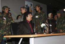 Muammar Gaddafi's famous female bodyguards