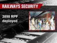 Railway security below par, trains sitting targets
