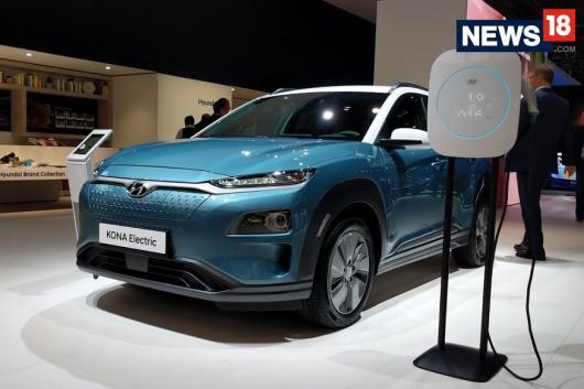 Hyundai Kona Electric Crossover. (Image: News18.com)
