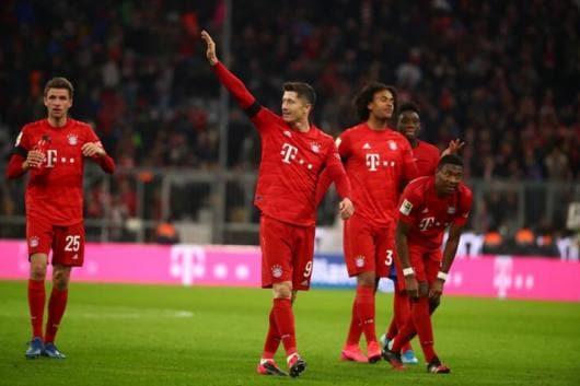 Bayern Munich's Robert Lewandowski (Photo Credit: Reuters)