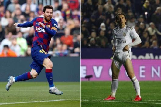 Lionel Messi, Luka Modric  (Photo Credit: Reuters)