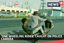 'One Wheeling Rider' Caught on Police Camera