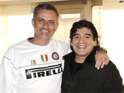 Maradona hails Mourinho as the best