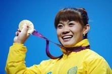 Maneza wins Kazakhstan's 2nd weightlifting gold