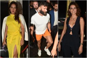 Instagram King Dan Bilzerian Parties Hard With B'wood Divas