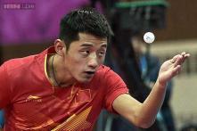 Watch: Table Tennis world champion's celebration costs him $45K