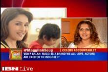 Unfair to hold endorser accountable for Maggi's safety standard: Vidya Balan