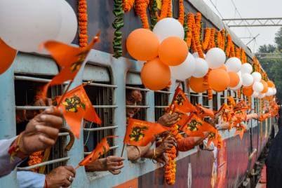 PHOTOS: Shri Ramayana Express Train Flagged Off from New