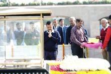 Arvind Kejriwal Visits Rajghat, Calls for Restoration of Peace in National Capital