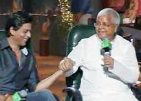 If SRK is my fan, I'm his AC: Laloo