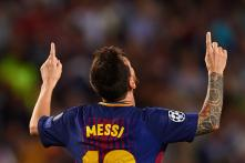 Lionel Messi Makes Two Records His on Historic Night for Barcelona