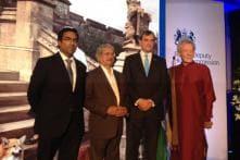 Ian McKellen Attends Birthday Party for Queen Elizabeth II in Mumbai