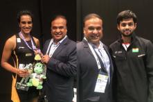 Badminton Association of India Announces Cash Rewards for PV Sindhu, Sai Praneeth