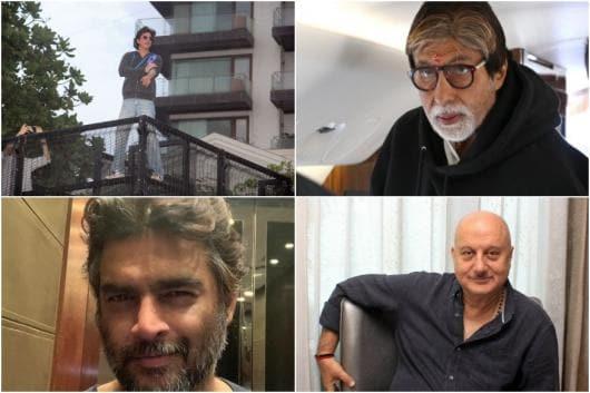 Image of Shah Rukh Khan, Amitabh Bachchan, Anupam Kher, R Madhavan, courtesy of Instagram