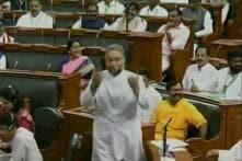 Met With 'Jai Shri Ram' Slogans, Owaisi Ends Lok Sabha Oath With 'Allahu Akbar' and 'Jai Hind'
