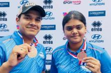 Abhishek Verma and Jyothi Surekha Bag Bronze in Archery World Cup