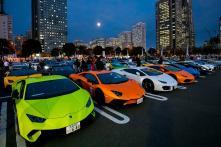 Lamborghini Day Japan 2018 Celebrated With More Than 200 Supercars In Yokohama