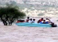 Rain wrecks Rajasthan desert town
