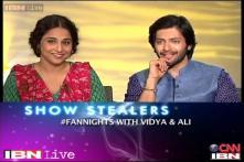 e Lounge: Vidya Balan, Ali Fazal answer fans' queries