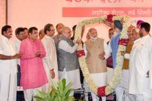 PICS: PM Modi, Amit Shah Host Dinner Meet for NDA Leaders