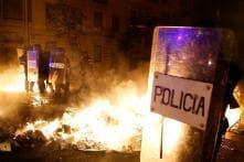 Protest Against Catalan Separatist Leaders' Sentencing Sets Barcelona Streets Ablaze