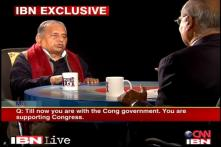 Will continue to support Congress: Mulayam