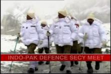 Indo-Pak defence secretaries to discuss Siachen
