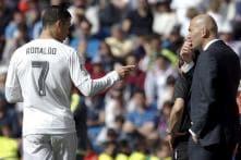 Ronaldo 100% Fit, Benzema, Casemiro Out for City Clash: Zidane