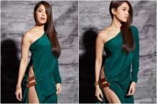 Nushrat Bharucha's Thigh High Slit Dress Leaves Fans Mesmerised