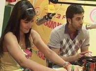 Ranbir, Katrina ready to rock with <i>Ajab Prem..</i>