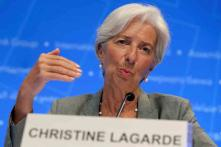 International Monetary Fund's Christine Lagarde Proposes 'Rainy Day Fund' for Euro Zone