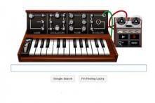 Battle of the doodles: Bob Moog vs Les Paul