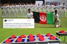 'Tears of Joy': Cricket Fans Get Emotional as Afghanistan Team Makes Test Debut