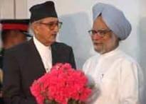 Koirala seeks Indian monetary aid