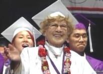 Granny gets a diploma at 98!