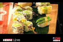 Foodie Friday: delicious Sushi for vegetarians