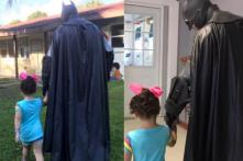 The Hero We Deserve? 'Batman' Walks Bullied Toddler to School