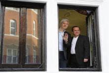 A year on, Julian Assange stays put in Ecuadorean Embassy in London
