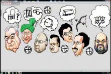 Election Cartoons: What Maharashtra, Haryana politicians are thinking before results