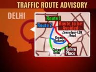Metro accident: Road opened for one-way traffic