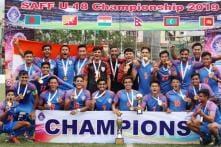 India Beat Bangladesh in Tight Contest to Lift Maiden SAFF U-18 Championship