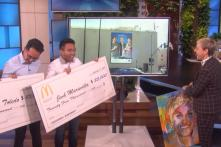 Ellen DeGeneres Had the Best Surprise For Asian YouTubers Who Pulled Off the Viral McDonald's Prank