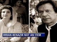 Biographer denies writing about Imran-Benazir