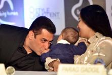 Salman Khan Launches Being Human Jewellery With Arpita and Nephew Ahil