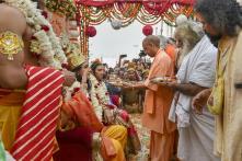 Mandir Tha, Hai Aur Rahega: Yogi Adityanath Celebrates Diwali in Ayodhya, Confirms Ram Statue